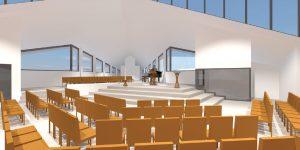 Kerkzaal, opstelling A